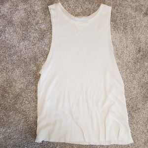 High neck waffle tank- Urban Outfitters
